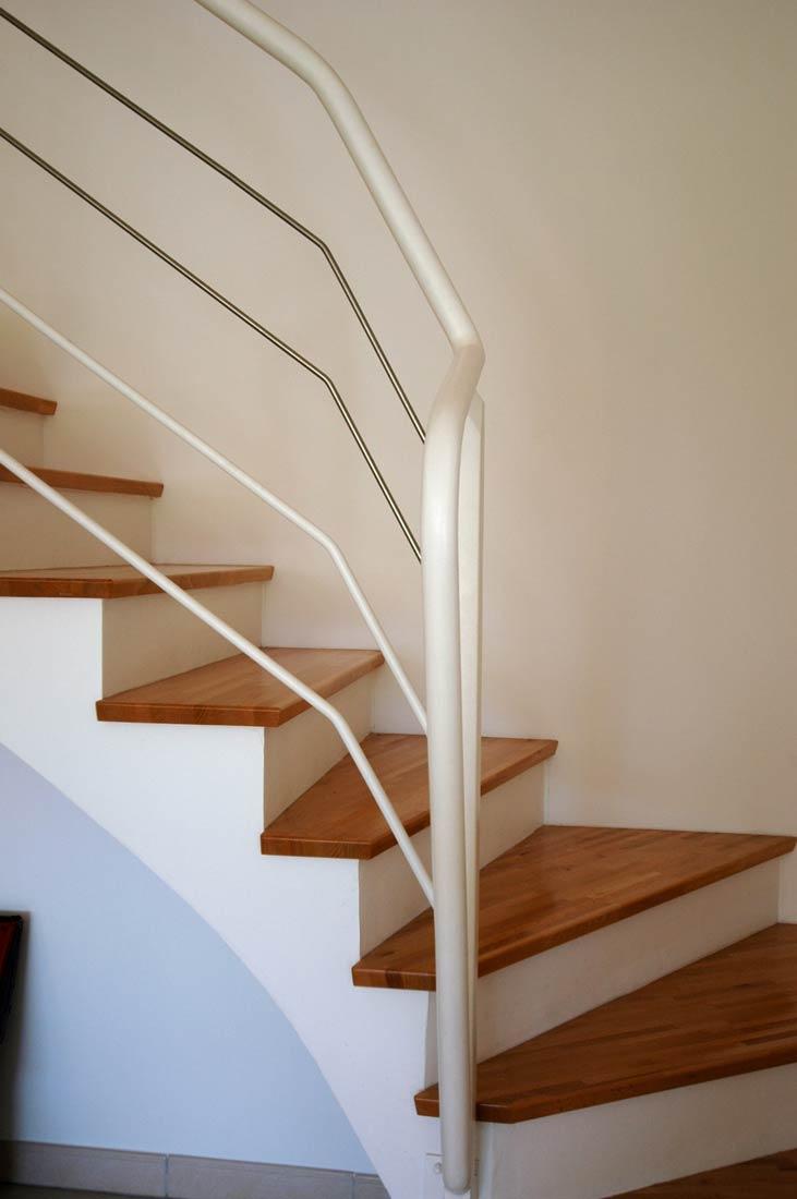 escalier interieur maison architectes