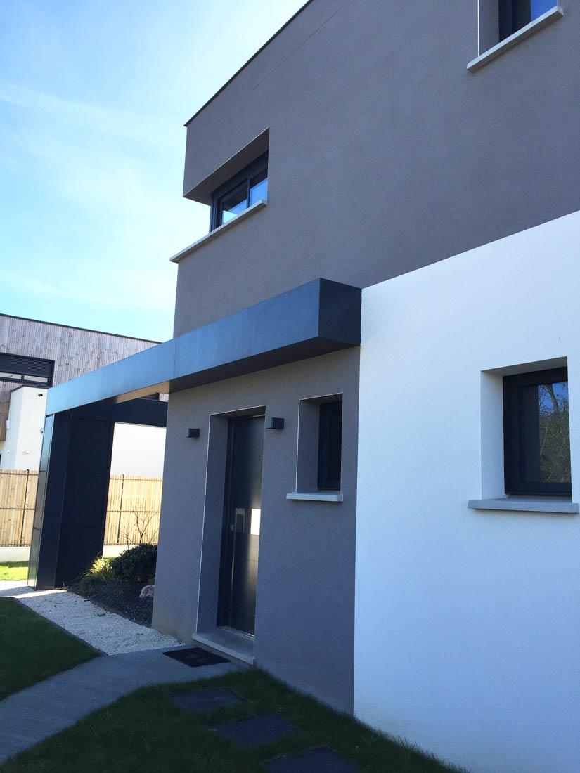 toit plat maison d'architectes