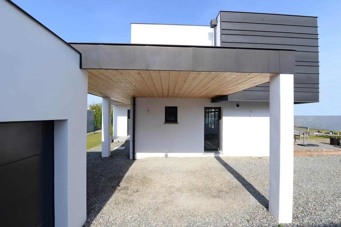 toit plat maison individuelle architectes
